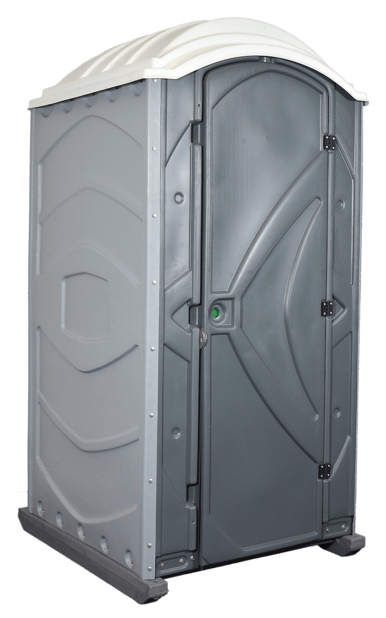 Flat-Packed Range Ultra Mobile Toilet - Side View